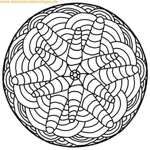 ausmal Mandala