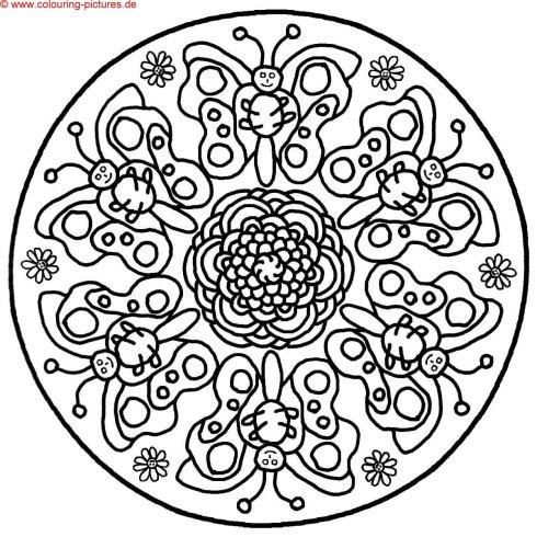 Mandala für Kinder