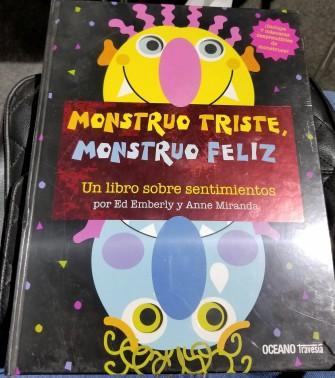 Monstruo triste Monstruo feliz