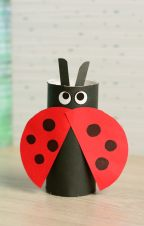 Toilet-Paper-Roll-Ladybug